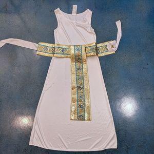 Girls Cleopatra Goddess Egyptian Queen Kids Dress